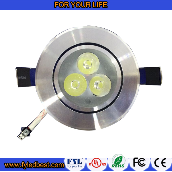 factory price mini 3w led recessed ceiling light suspended downlight