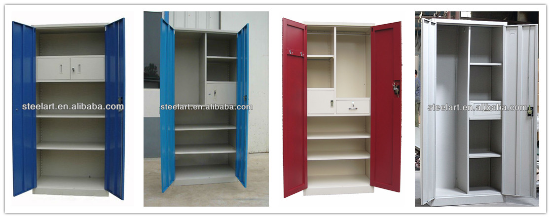 Cabinet Design For Clothes New Modern Bedroom 3 Door Steel Clothes Cabinet Design  Buy Clothes Design Inspiration