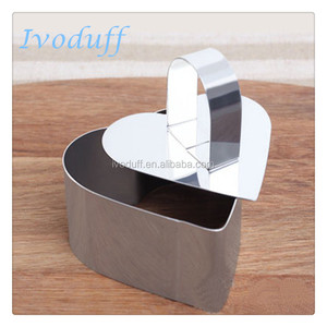 Hot sales Heart-shaped Cake Mould From China Factory/Stainless steel cake mould