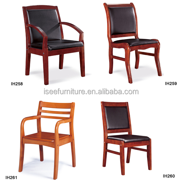 cheap wooden easy office visitor conference furniture chairs price
