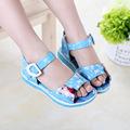 2016 Summer Elsa Girls Sandals shoes for girls Kids Anna Shoes Comfortable Soft Bottom Cartoon Children