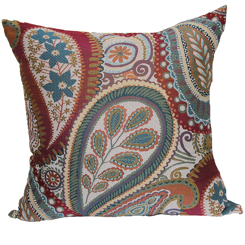 Get Quotations · Brentwood Originals 8851 Succulent 18 Inch Decorative  Pillow, Blossom