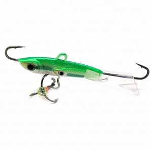 Ice Balance Jig Head Lure Wobbler Jigging Lure Ice Fishing Jig Head for Winter Fishing Lure
