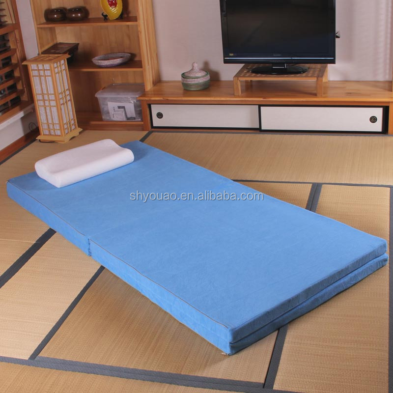 Easy fold and store high density foam folding floor - Colchon de futon ...