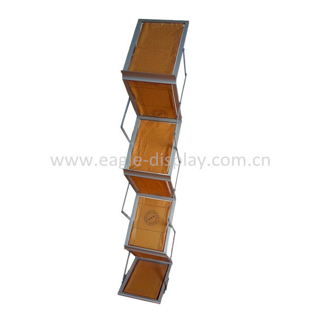Portable - Zig Zag Portable Brochure Display Stand (A4)
