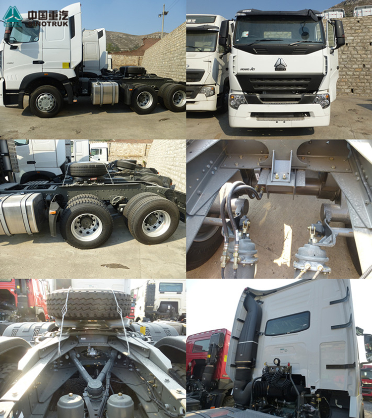 Winsense high quality euro 4 tractor international tractor truck head for export