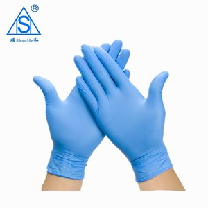 Hot selling cheap price nitrile gloves high quality sterile with ce