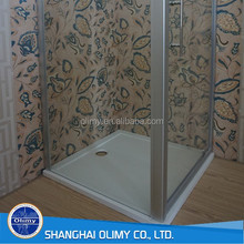 Deep Fiberglass SMC Stone Resin Shower Base