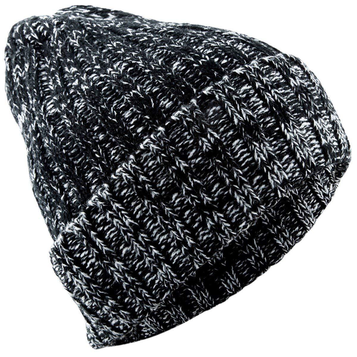squaregarden Beanie Hats for Men Women,Winter Warm Baggy Ski Hat Knit Slouchy Cap