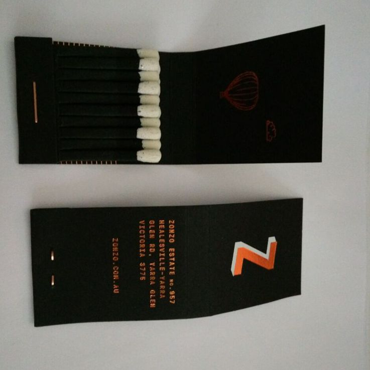 Paper Book Match Safety for Advertising, bar restaurant hotel book matches