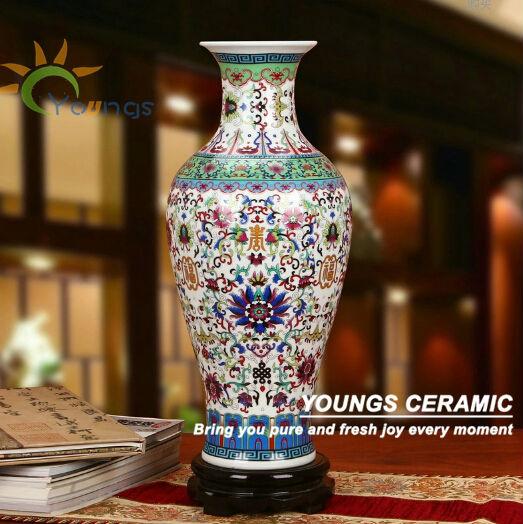 Unique Chinese Large Floor Blue Ceramic Flower Vases Wholesale Buy Large Flower Vases Large Floor Vases Wholesale Large Chinese Vases Product On Alibaba Com