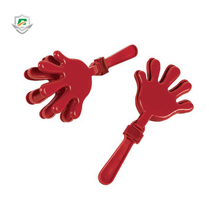 2018 promotional football game party mini custom sports event plastic clapping hands cheering clapper toy