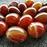 Factory price wholesale red agate crystal eggs cheap gifts 2019 hot sell yoni jade stone egg