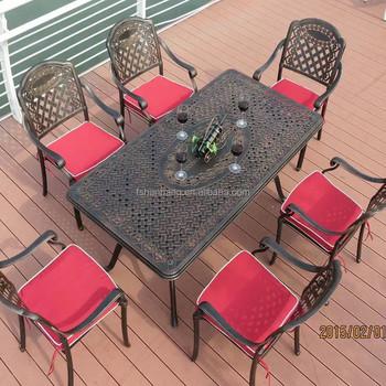 Hotsale All Weather Rust Free Cast Aluminium Outdoor Furniture Buy