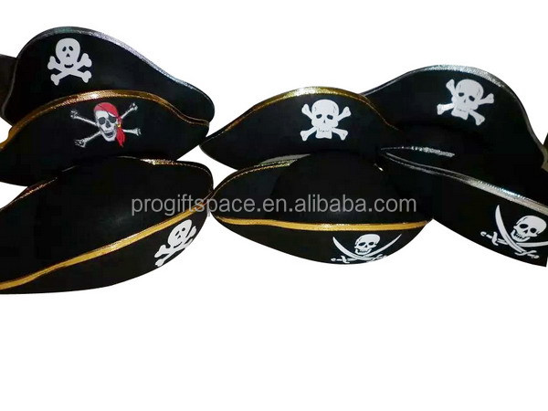 China Suppliers Custom Wool Felt Pirate Hat Pattern Wholesale For ...