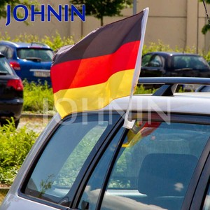 Hot Sales Cheap Black Red Yellow Promotional Car Flag Germany