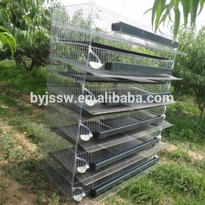 6 tier layer egg quail cages/metal quail cage for sale in philippines