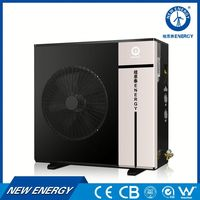 10kw 20kw wall mount air to water heat pump cost evi type