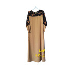 Muslim Dress Long Sleeve Abaya Cardigan Robes Arab Clothes Islamic Malaysia Style