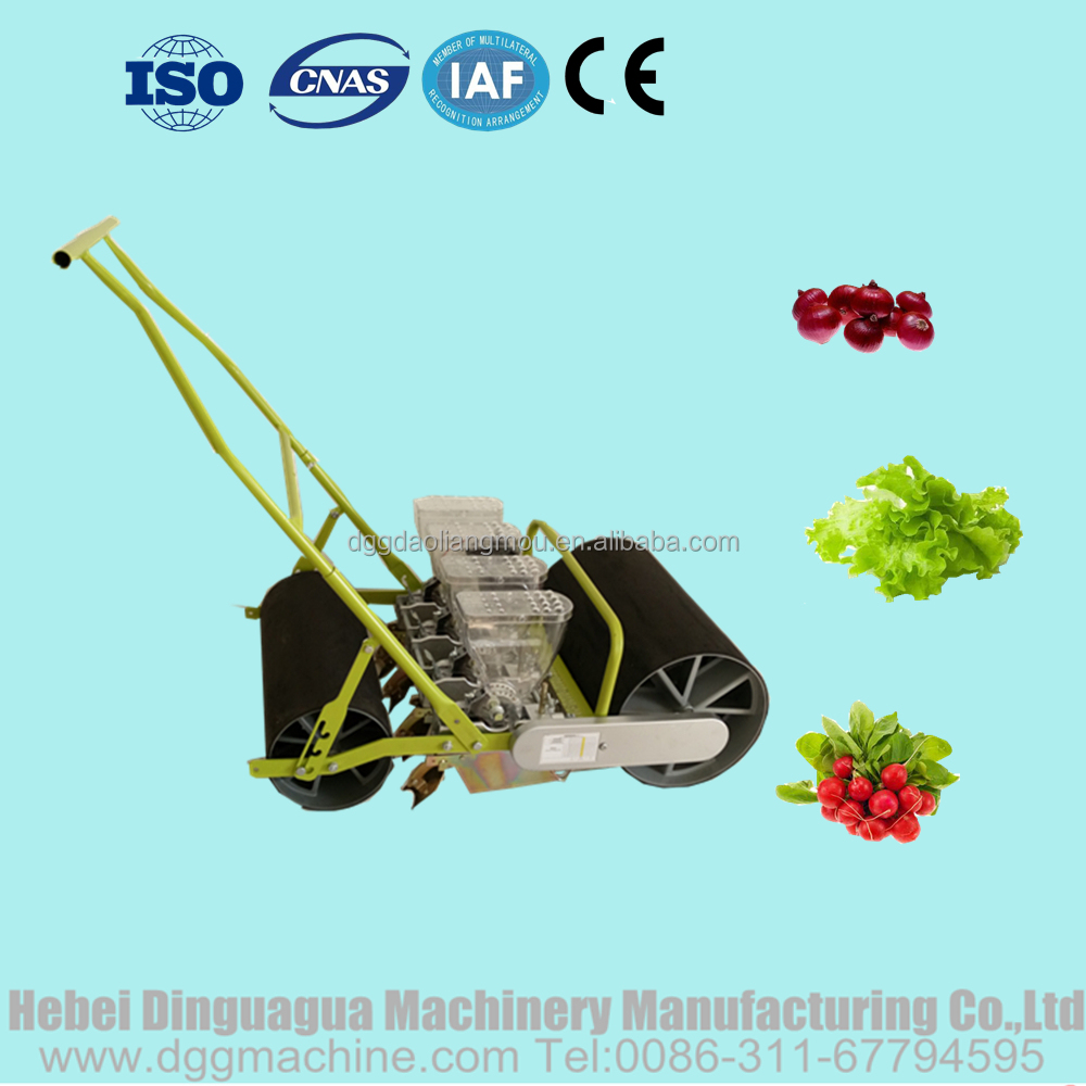 Precision onion seed planter Manual vegetable seed drill