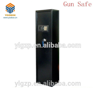 Classic Gun Rifle Case Lock Box rifle electronic safe lock two key safe box gun Gun Storage