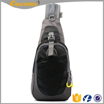 Branded Men Nylon Waterproof Chest Bags Outdoor Crossbody Sling Bag College  Student Shoulder Bag ccc89c76f709c
