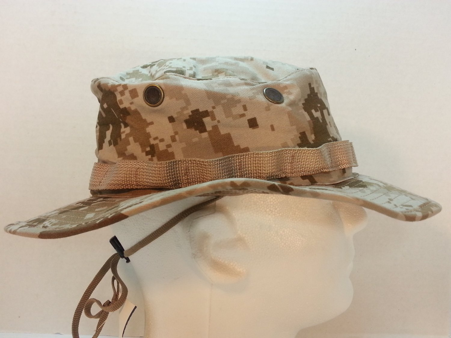 a56d0703ef747 Get Quotations · USMC DIGITAL DESERT MARPAT (MARINE PATTERN) BOONIE HAT  FIELD COVER USMC ISSUE X-