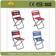 Foldable football folding beach chair with customized club logo