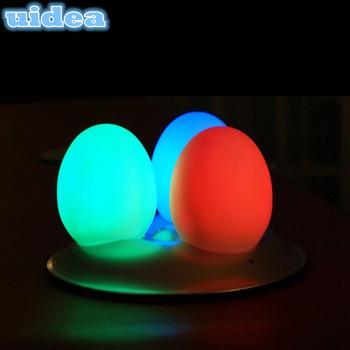 Rgb Led Egg Shaped Led Mood Lights Color Changing Led Night Light