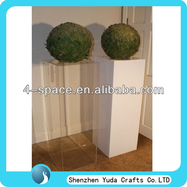 Acrylic Plant Stand Plexiglass Display Pedestal Perspex Cube Plinth - Buy Acrylic  Plant Stand,Acrylic Rugby Ball Display Case,Acrylic Cube Baseball Display  ...