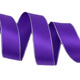 purple silver edged printed double face satin ribbon gift wedding christmas decoration ribbons (100 yards/roll)