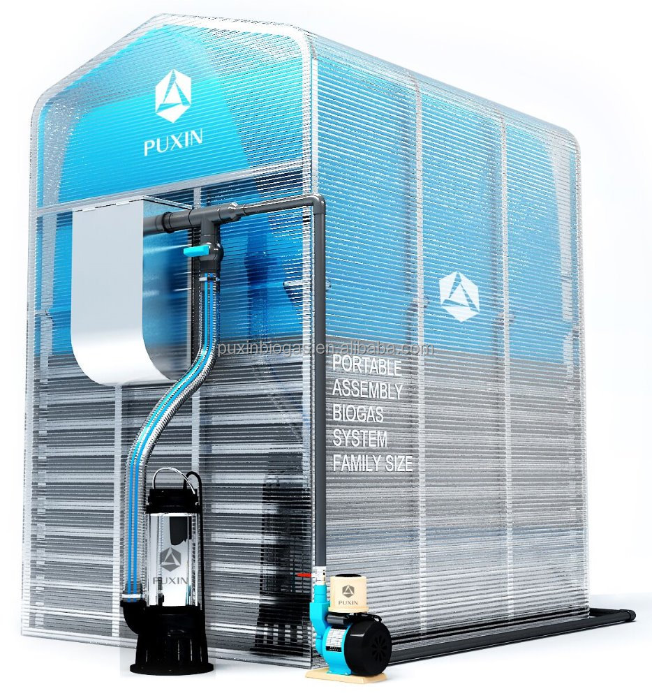 High Cost Performance Puxin Mini Biogas Plant With Ce Certificate ...