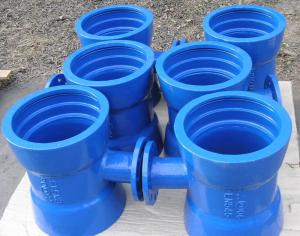 EN545 ISO2531 EN598 Ductile Cast Iron Pipe fitting DI pipe fittings