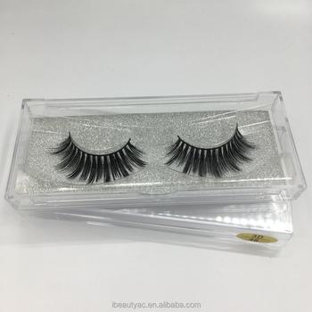 197e929cc5e Wholesale Price Mink 3d Hair Eyelash 3d Fiber Lashes With Plastic Eyelash  Box Glitter Eyelash