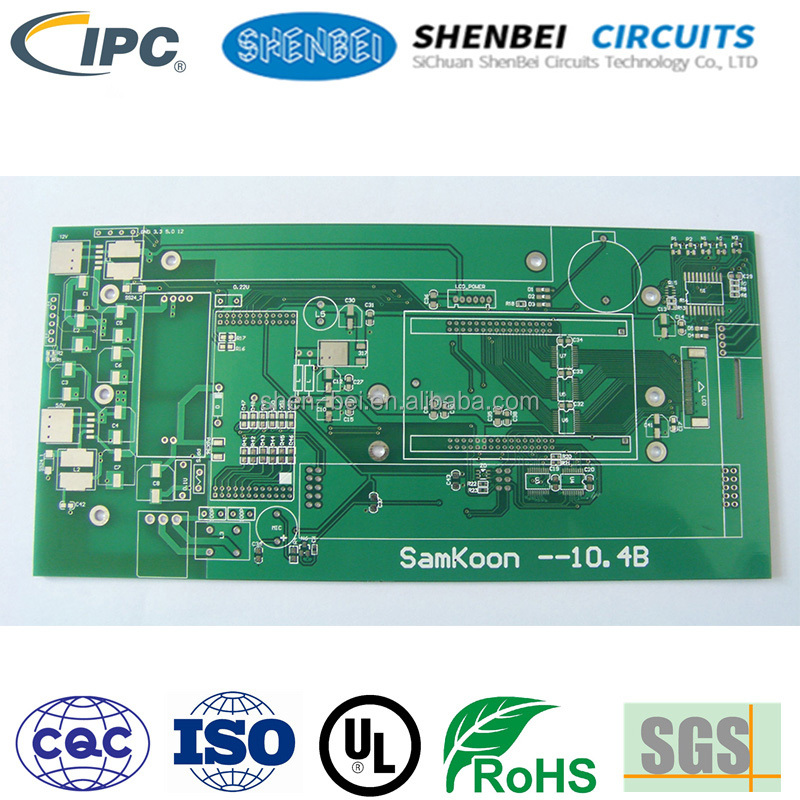 Low price ROHS <strong>pcb</strong> substrate fr4 antenna <strong>pcb</strong> double sided <strong>pcb</strong>