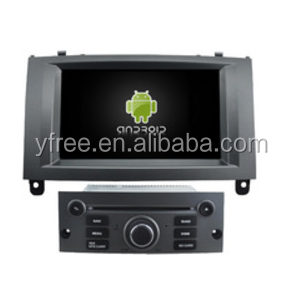 touch screen car dvd player for peugeot 407 Android car navigator auto navigation car central multimedia video system