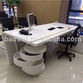 High End Italian Design Acrylic Solid Surface Perfect Modern Office  Executive - Buy Office Desk,Exclusive Office Furniture Desks,Office Desk Of  Modern ...