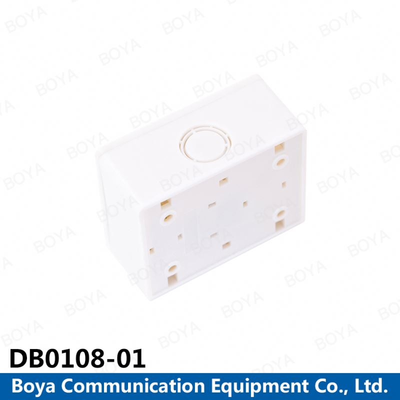 China Supplier Cheap cheap french rj45 wall plate 8 pairs distribution box
