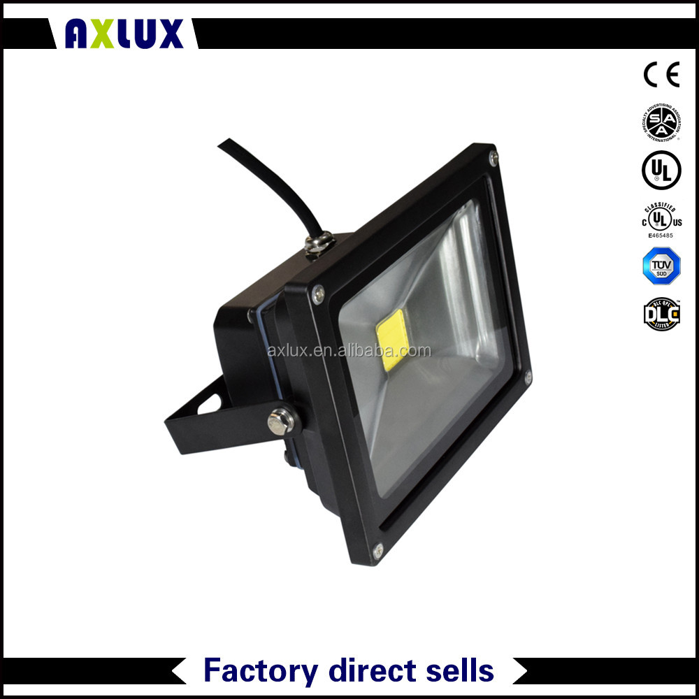 12V 24V DC 10W LED flood light IP65 waterproof 5 years warranty CE Rohs