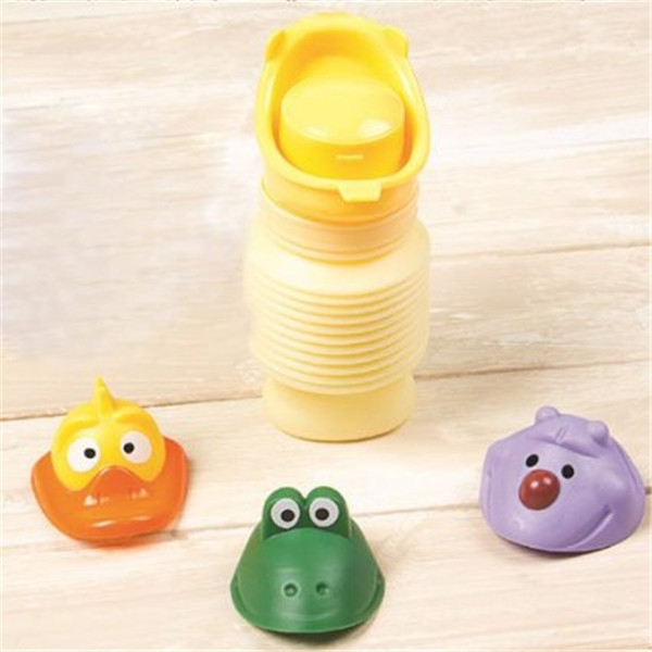 Portable Unisex Children Potty Cartoon Car Toilet Pee Travel Urinal