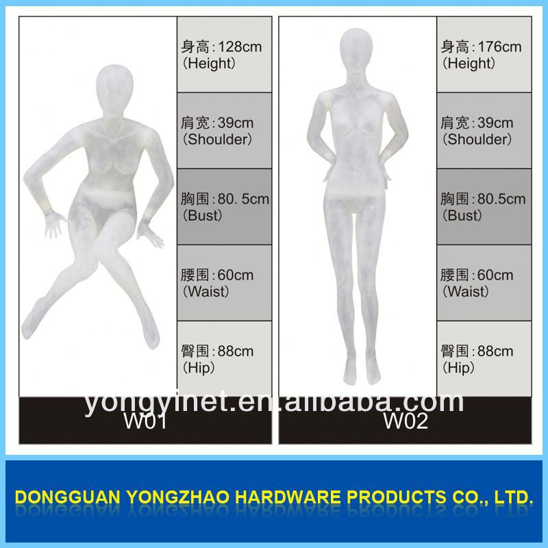 Beautiful appearances!!cheap stand female dress form mannequin