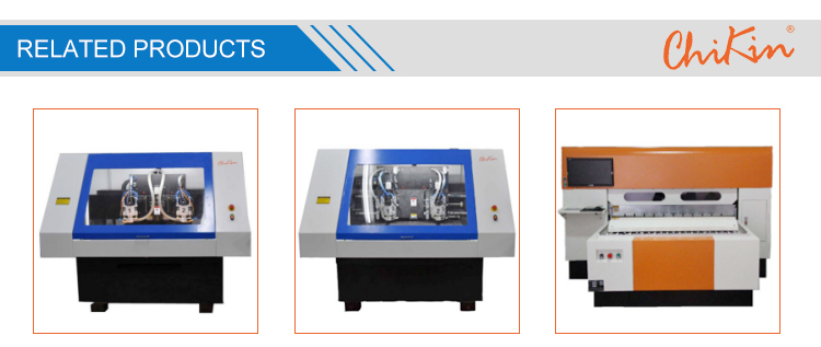 CHIKIN controller CNC Aluminum High Speed PCB Drilling Machine With 200000 rpm Spindle Motor