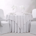 Round White Polyester Cotton Banquet Wedding Linen Hotel Table Cloth Tablecloth For Hotels