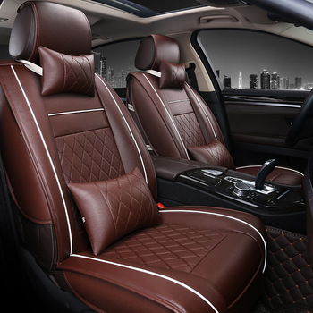 Super Luxurious 3D Fashion Pu Leather Full Set Car Seat Cover For Car Seat Protector With Black With Beige Brown Buy Car Seat Cover Fashion Car Seat Theyellowbook Wood Chair Design Ideas Theyellowbookinfo