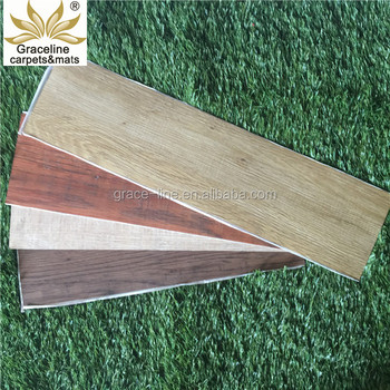 Plastic Flooring Type And Pvc Material Vinyl Floor Tile For Indoor Using