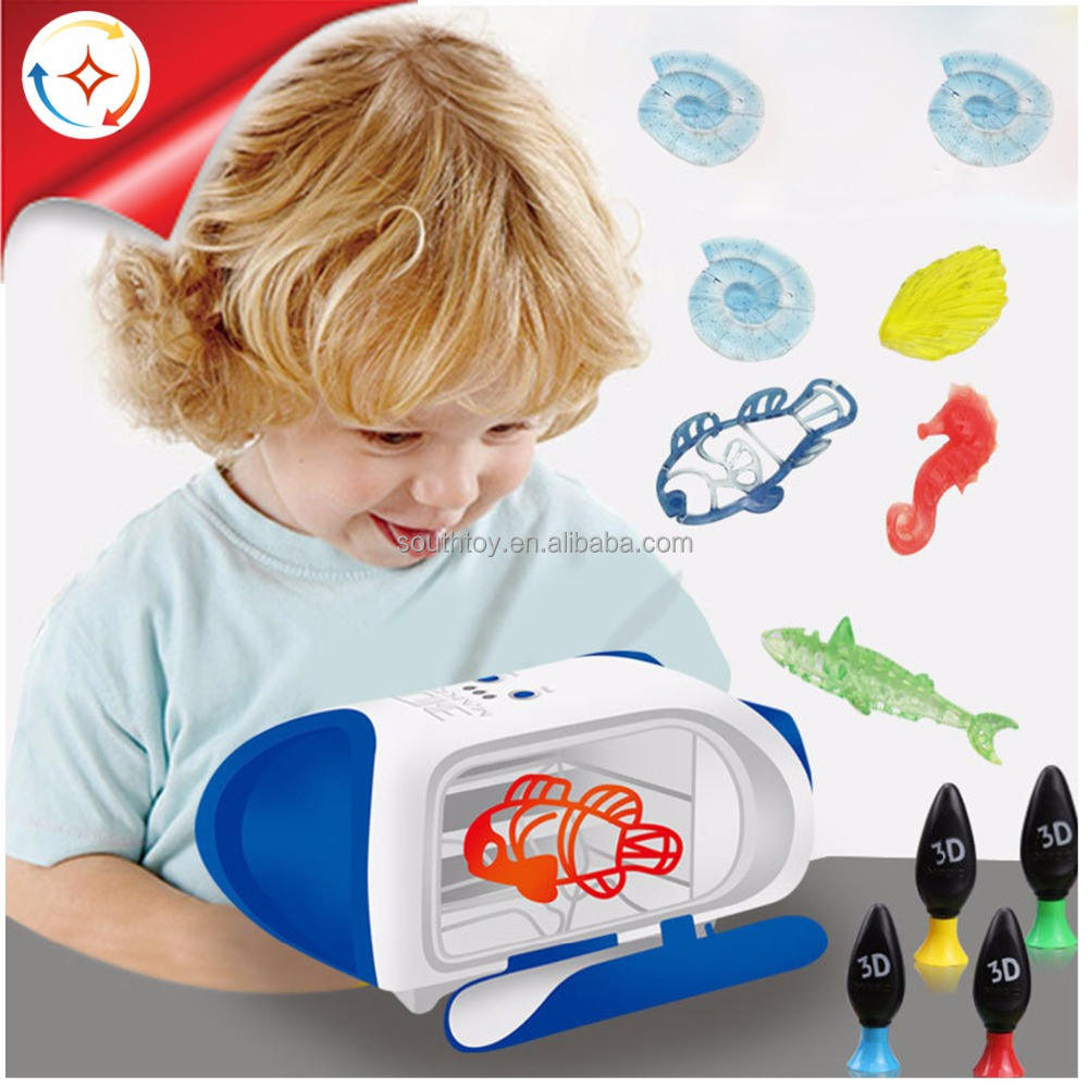 new STEM toys kids 3D maker toy forming printer machine printer doodler