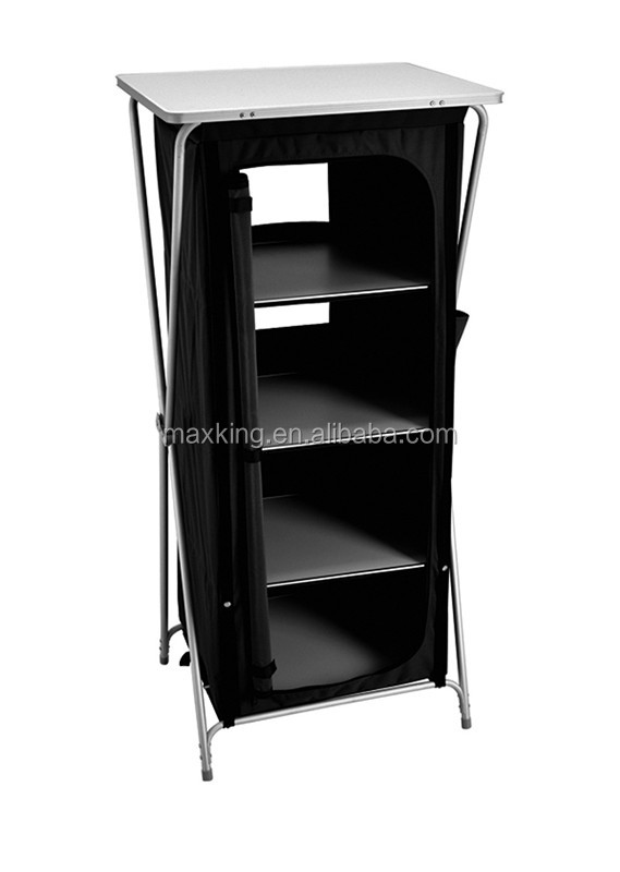 Four shelf Camping cupboard , camping cabinet
