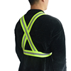 Safety & High Visibility Vest for Running, Jogging, Walking, Cycling | Fits Over Outdoor Clothing ( Neon Yellow)