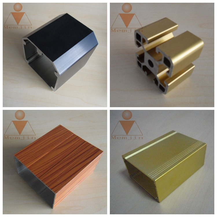 Aluminum Rectangular Tube Extrusion /aluminium Profile Fabrication ...