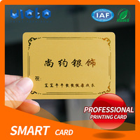 Low price of vip smart card making factory With Stable Function